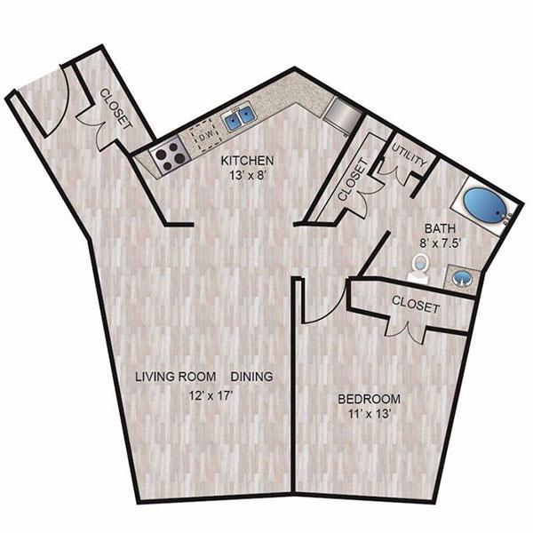 Floorplan - A4 image