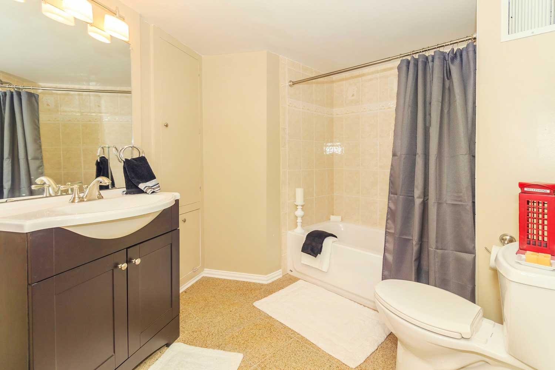 Large Bathroom at View at Kessler Park Apartments in Dallas, TX