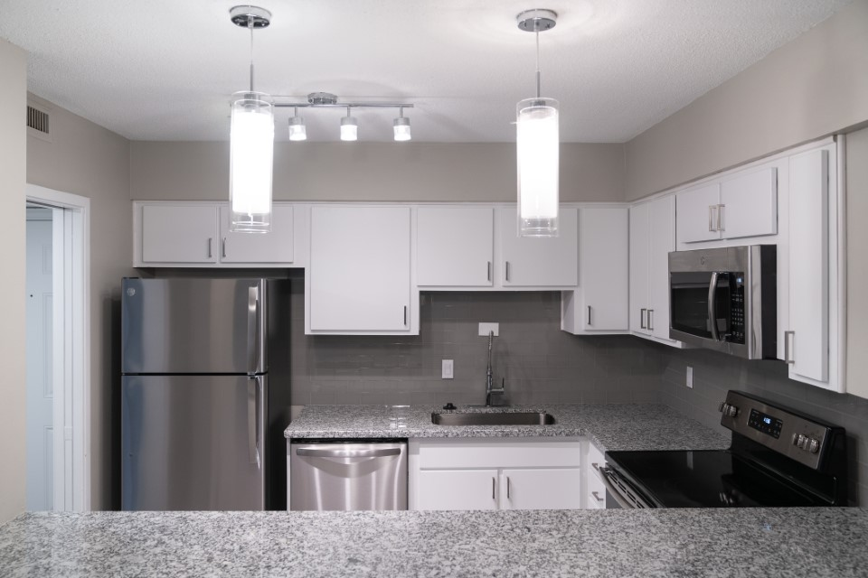 Upgraded Designer Lighting at View at Kessler Park Apartments in Dallas, TX
