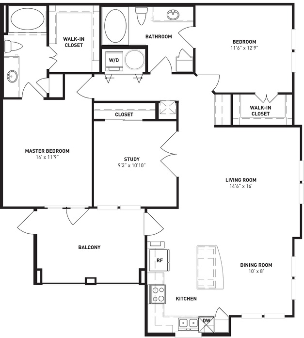 King's Cove - Floorplan - B2