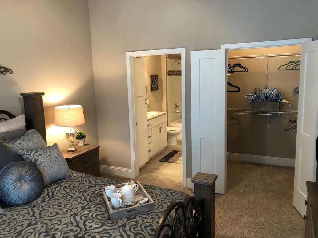 Spacious Closets at King's Cove Apartments in Kingwood, Texas