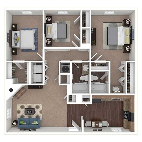Floorplan - 3x2 image