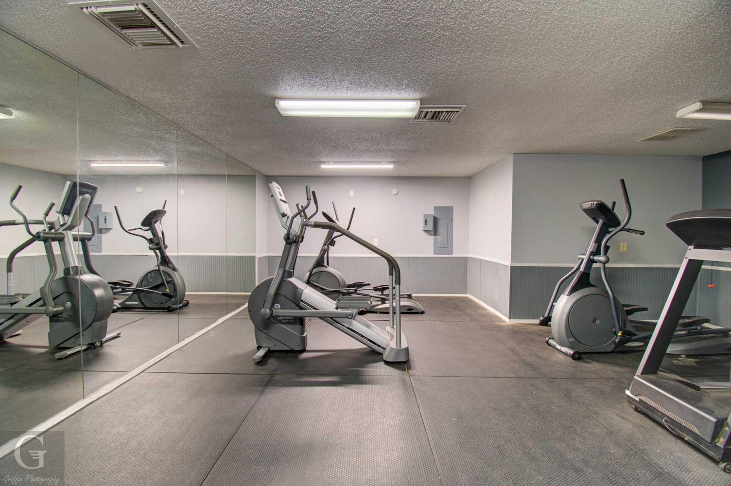 On Demand Fitness Center at Kingston Village Apartments in Shreveport, LA