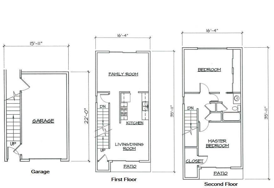 Blk. Mtn. Lofts - Floorplan - 2D