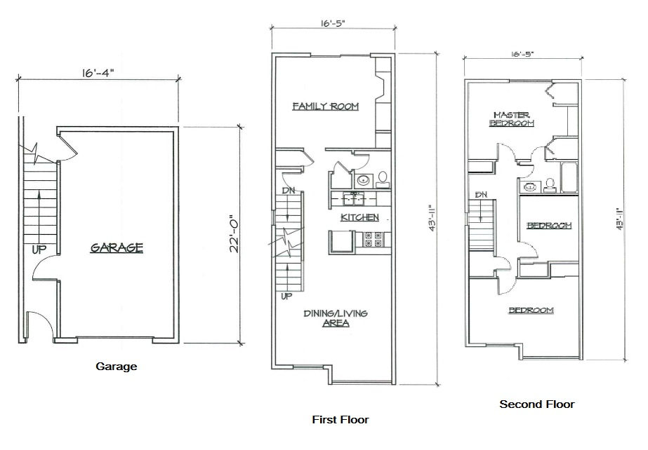 Blk. Mtn. Lofts - Floorplan - 3A