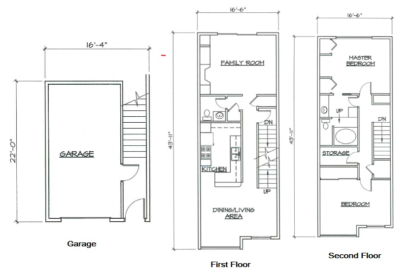 Blk. Mtn. Lofts - Floorplan - 2E