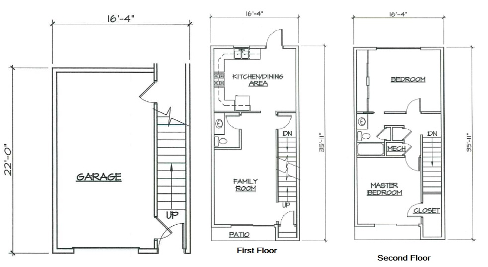 Blk. Mtn. Lofts - Floorplan - 2F
