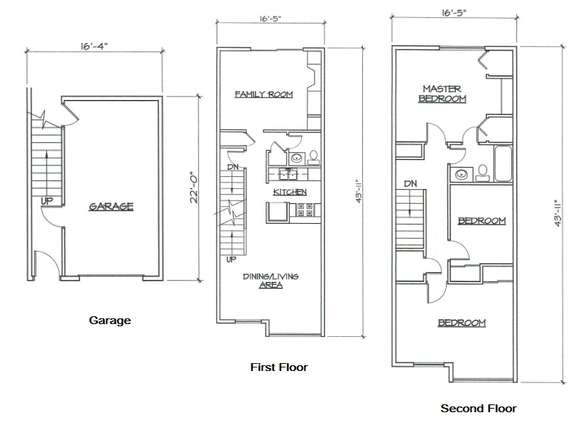 Blk. Mtn. Lofts - Floorplan - 3B