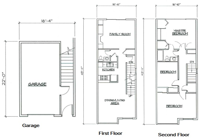 Blk. Mtn. Lofts - Floorplan - 3C
