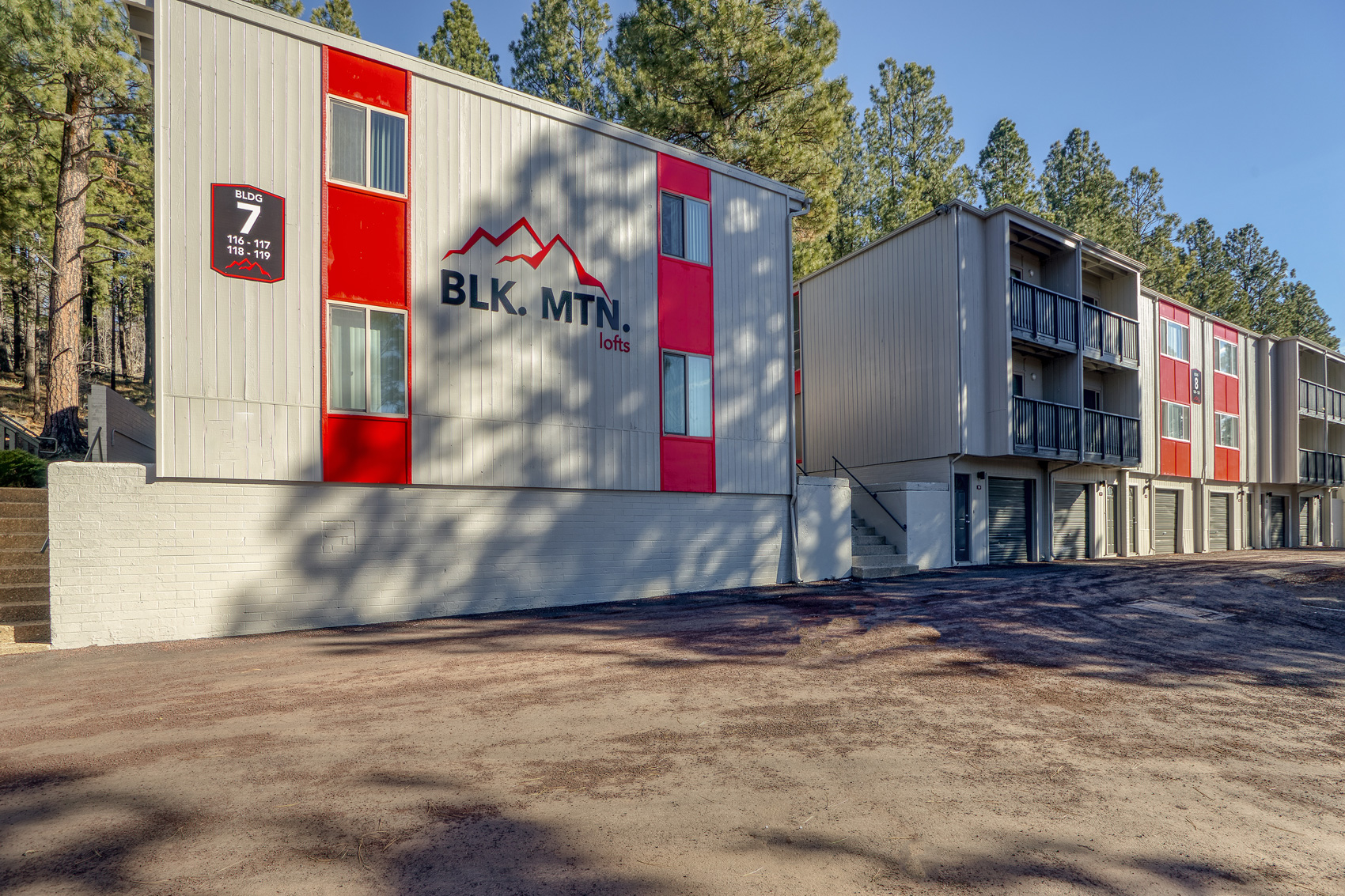 Newly Constructed Apartments in Flagstaff at Blk. Mtn. Lofts Apartments in Flagstaff, Arizona