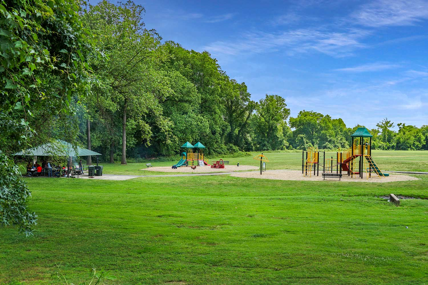 Chillum Community Park is 5 minutes from Kirkwood Apartments in Hyattsville, MD