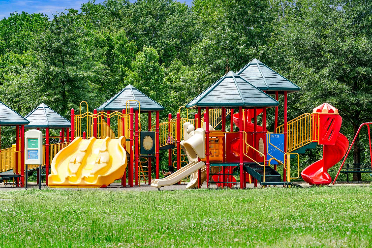 Play area within walking distance from Kirkwood Apartments in Hyattsville, MD