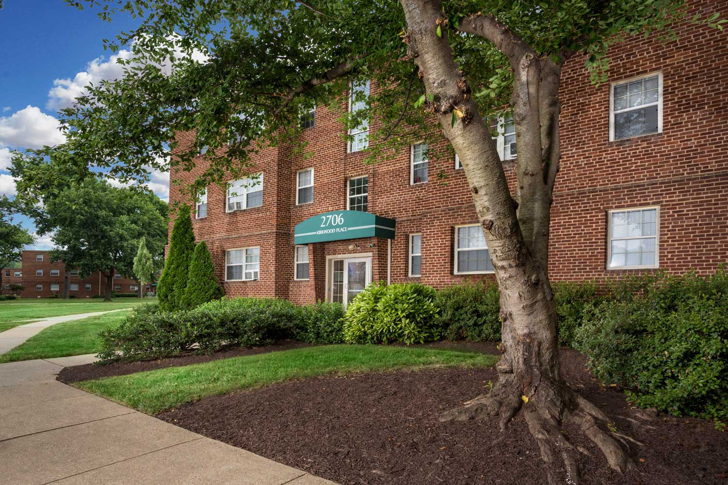 Studio, 1 and 2 Bedroom Apartments at Kirkwood Apartments in Hyattsville, MD