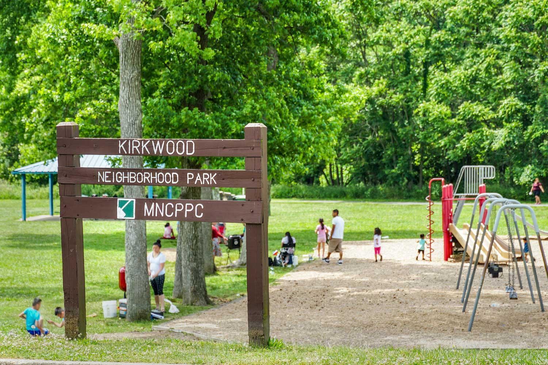 Next to Kirkwood Neighborhood Park in Hyattsville, MD
