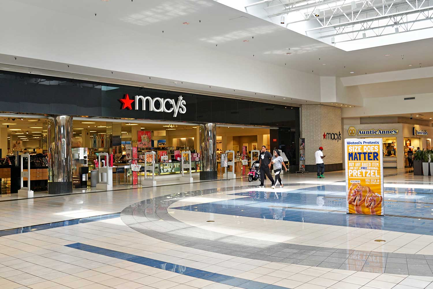 Macy's is 5 minutes from Kirkwood Apartments in Hyattsville, MD