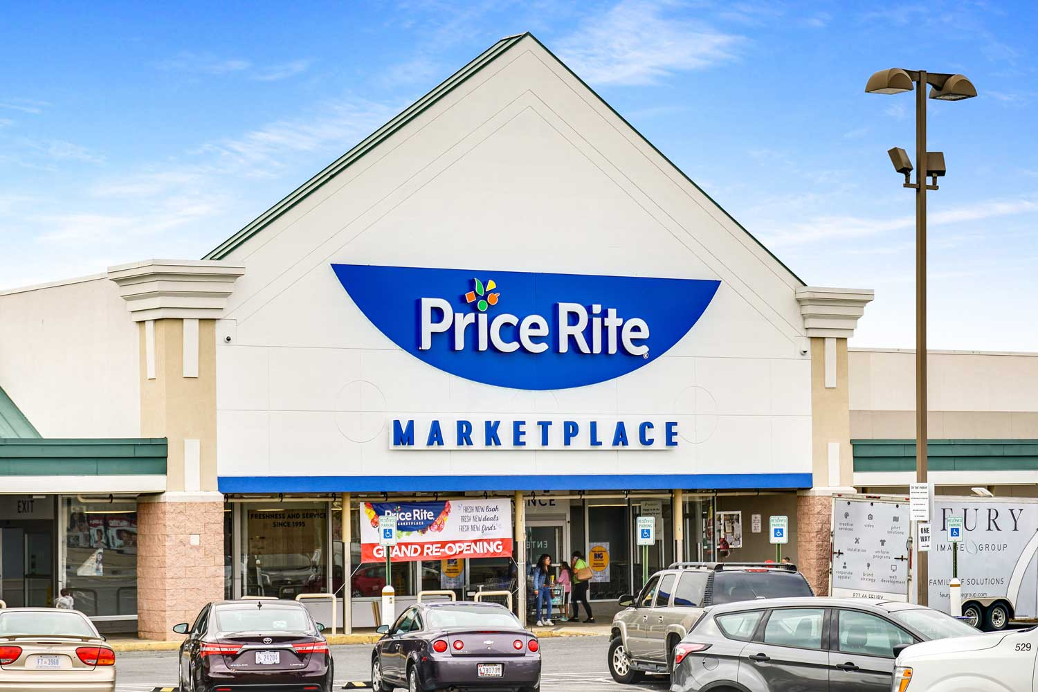 Price Rite Marketplace 5 minutes from Kirkwood Apartments in Hyattsville, MD