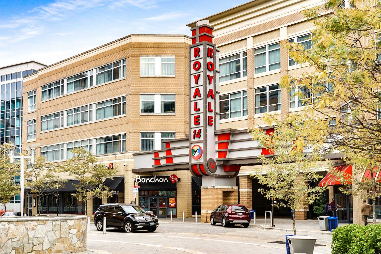 5 minutes to Regal Hyattsville Royale movie theater