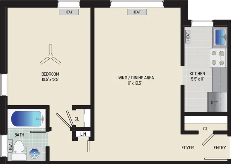 Kirkwood Apartments - Apartment 16N627-104-C2