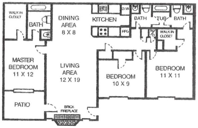 Floorplan - Caddo image