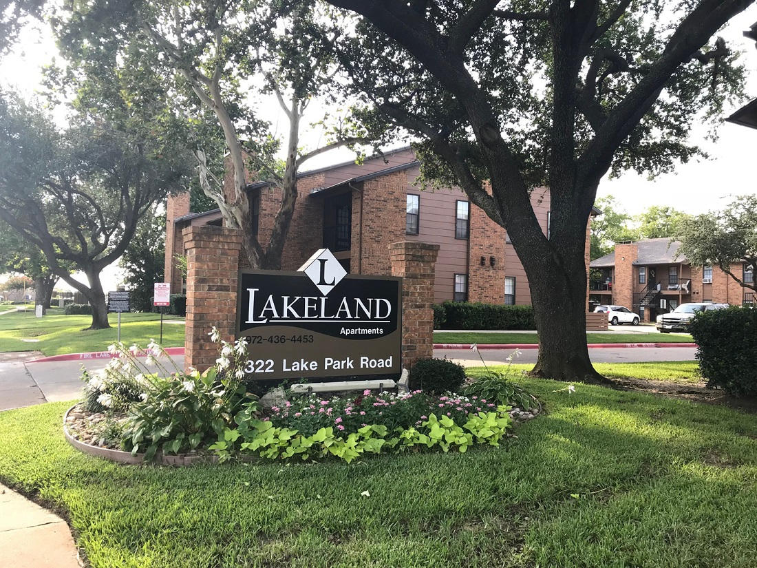 Professional Management at Lakeland Apartments in Lewisville, Texas
