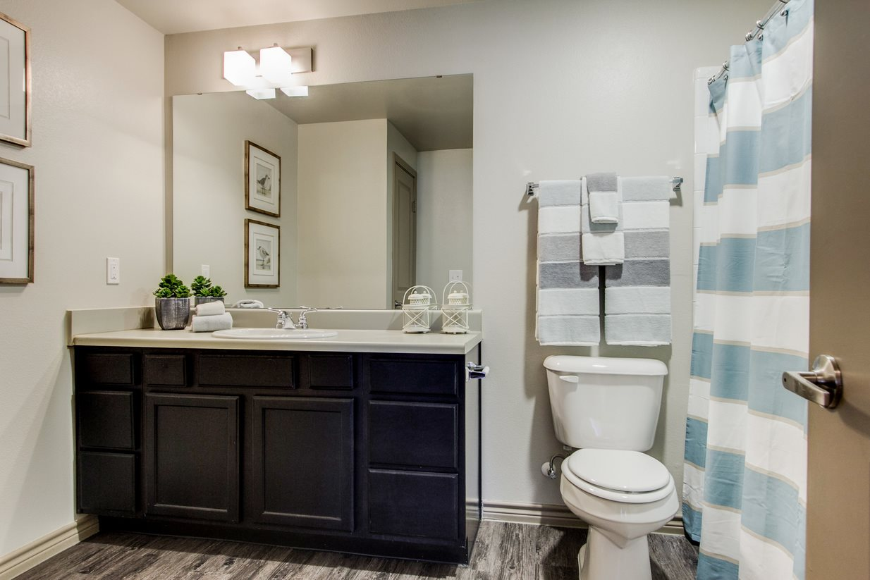 Single Vanity at The Lakeshore Apartment Homes in Lake Dallas, TX