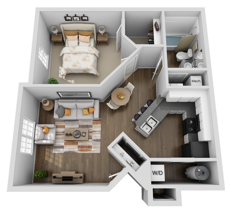 Floorplan - Haven image