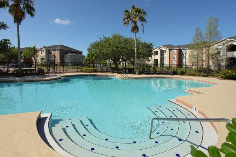 Resort Style Pool at Lakes at North Port Apartments in North Port, Florida