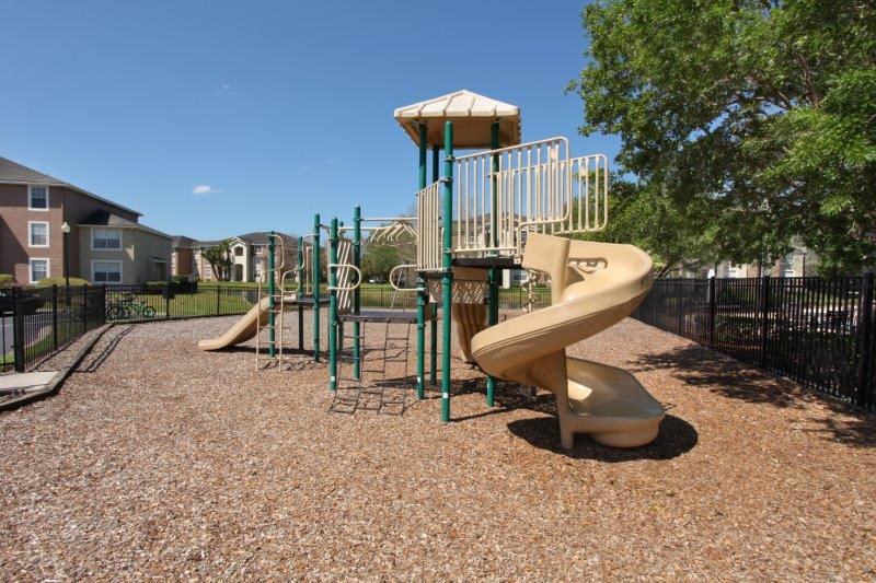 Children's Playground at Lakes at North Port Apartments in North Port, Florida