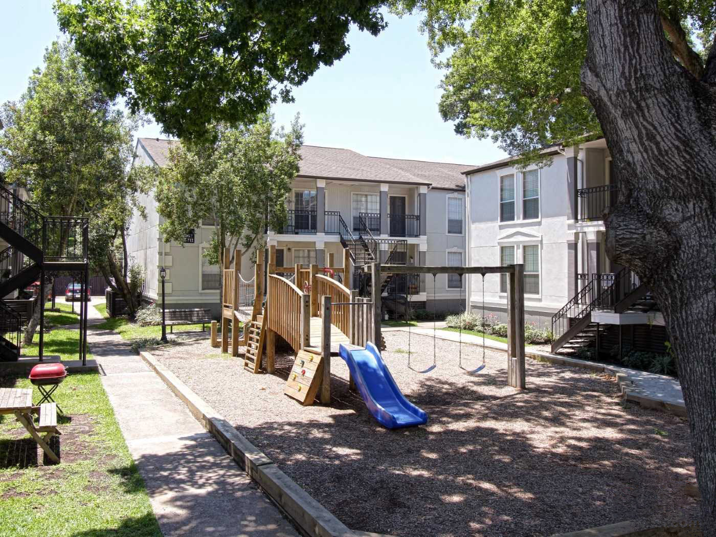 Playground at La Maison at Lake Cove Apartments in Seabrook, Texas