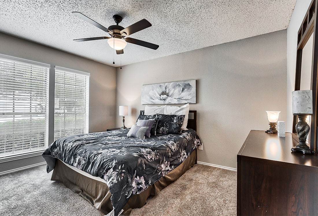 Spacious Bedroom at Las Brisas Apartments in San Antonio, TX
