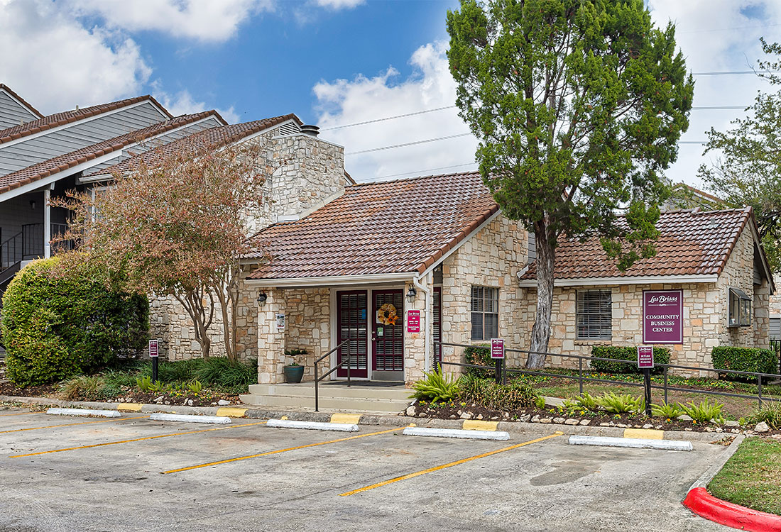 Leasing Center at Las Brisas Apartments in San Antonio, TX