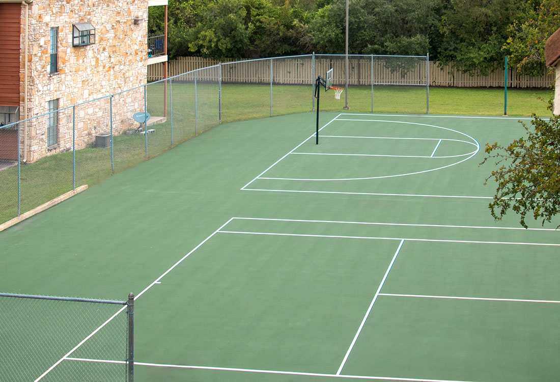 Tennis Court / Basketball Court at Las Brisas Apartments in San Antonio, TX
