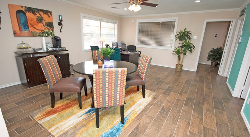 Open Living Layouts at Las Casitas Apartments in DeSoto, Texas