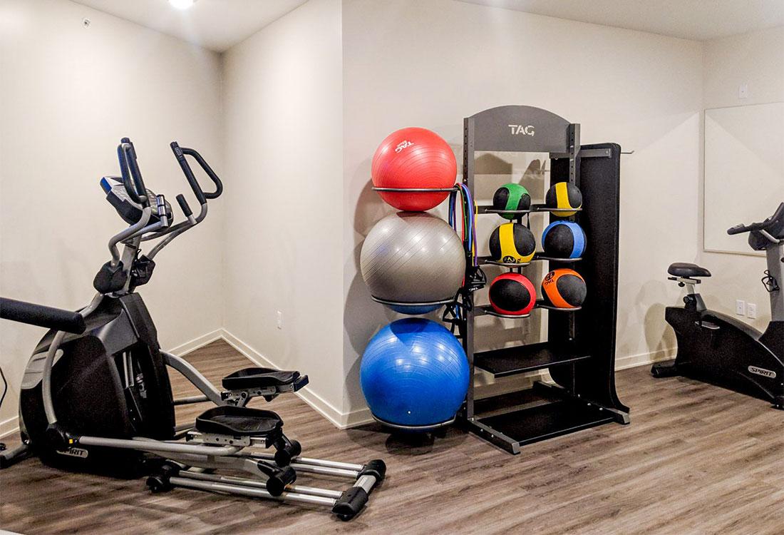 Fitness Center at Legacy 23 Apartments in Columbus, Nebraska