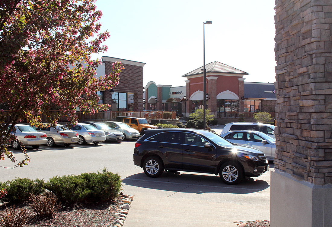 Ample Parking at Legacy Flats Apartments in Omaha, Nebraska