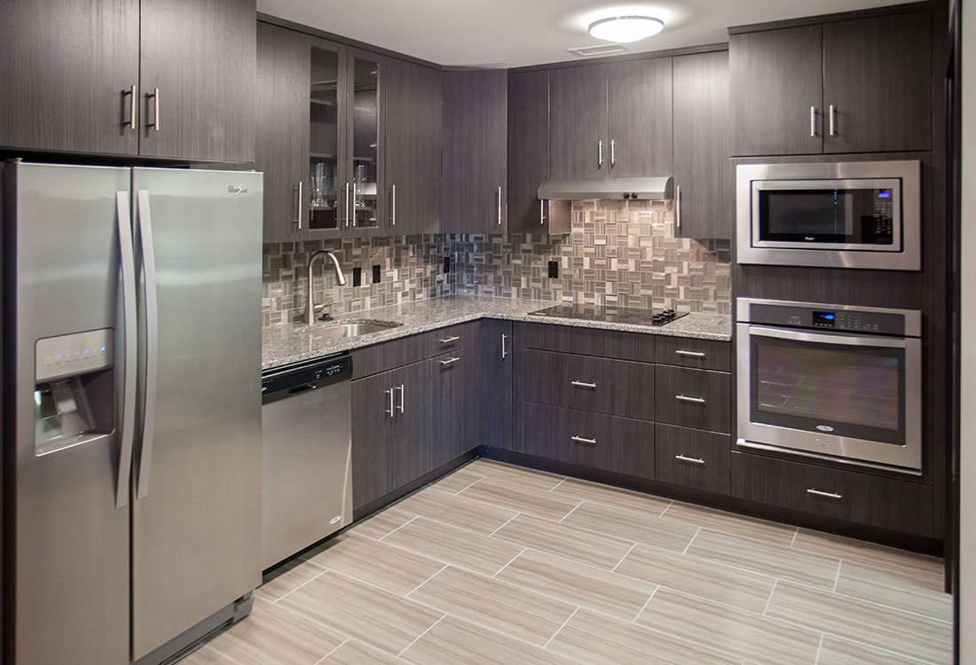 Stainless Steel Appliances at Legacy Flats Apartments in Omaha, Nebraska