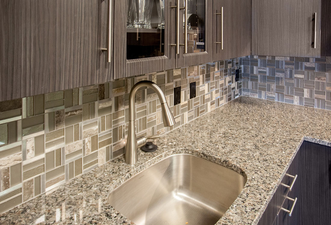 Beautiful Granite Countertops At Legacy Flats Apartments In Omaha, Nebraska