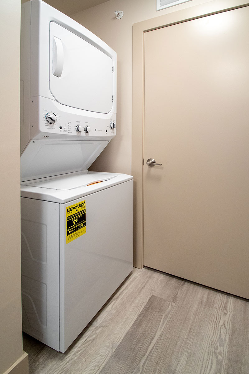 In-Home Laundry at Legacy Flats Apartments in Omaha, NE