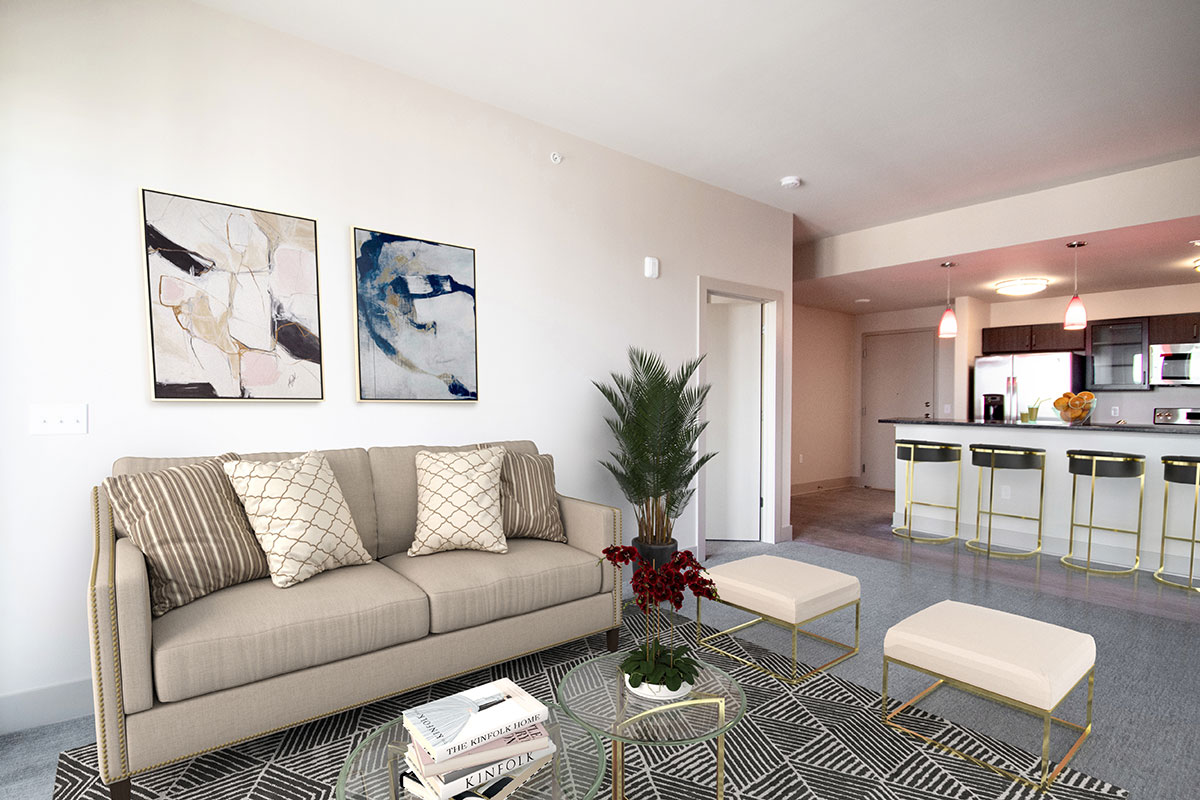Open Concept Floor Plans at Legacy Flats Apartments in Omaha, NE