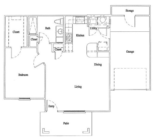 Floorplan - Unit A1 image
