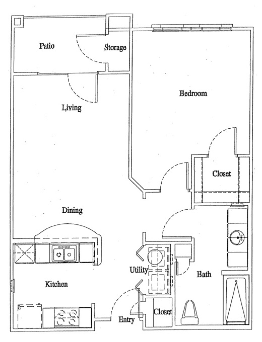 Floorplan - Unit A2 image