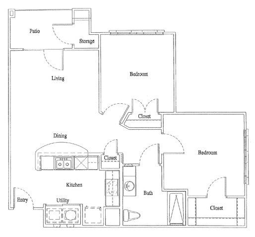 Legacy Senior Apartments - Floorplan - Unit B3