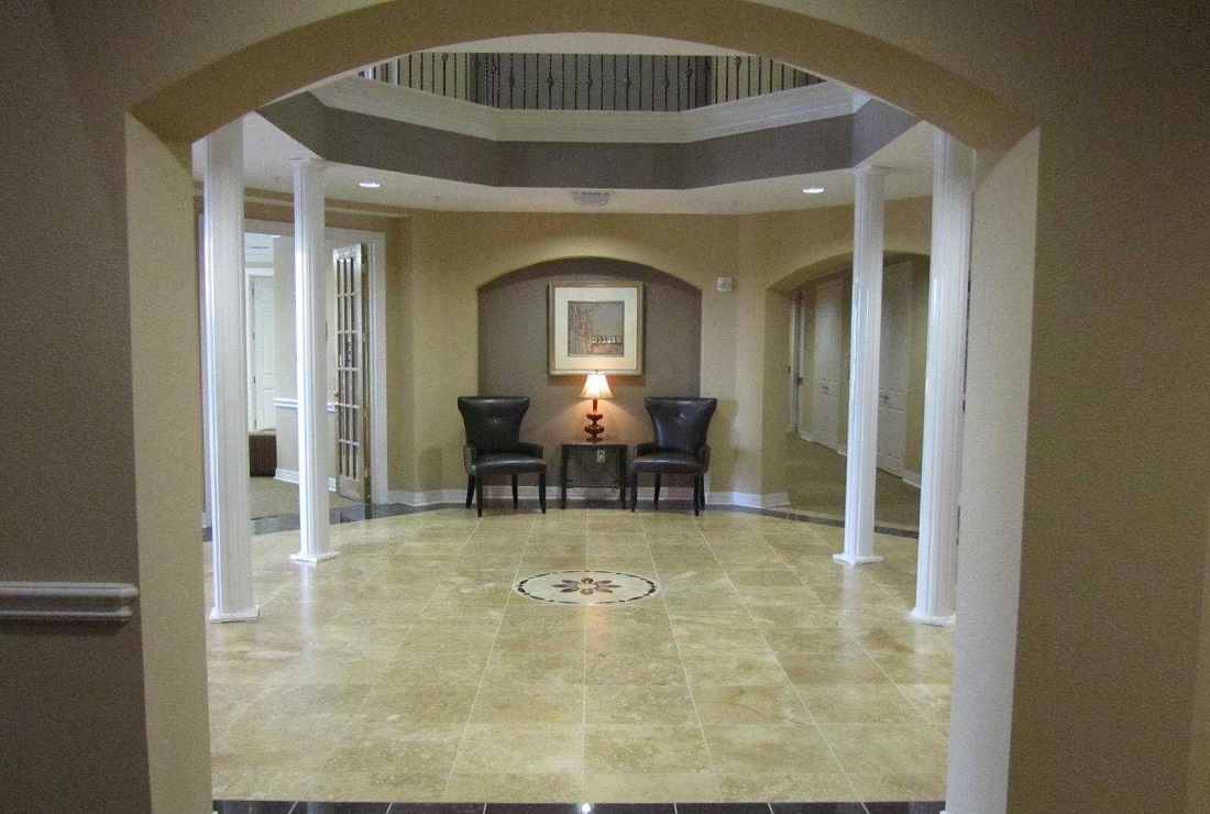 Interior of the Legacy Senior Apartments at Port Arthur, TX