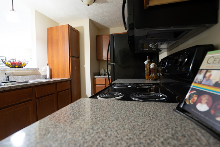 Kitchen at Lehigh Park Apartments in Henrietta, NY