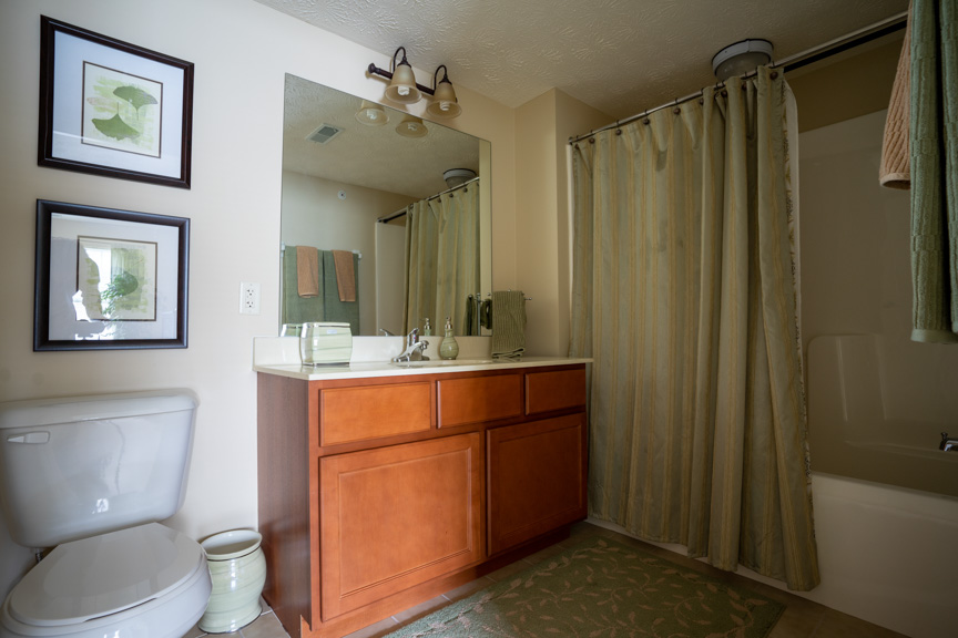 Bathroom for Rent at Lehigh Park Apartments in Henrietta, NY