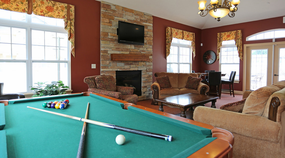 Pool Table in Resident Clubhouse at Lehigh Park Apartments in Henrietta, NY