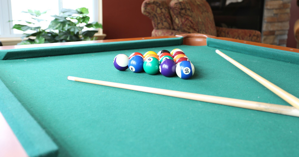 Billiards at the Community Room