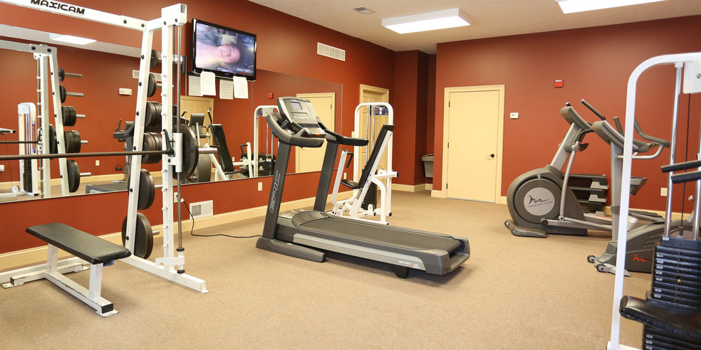 Modern Fitness Center at Lehigh Park Apartments in Henrietta, NY