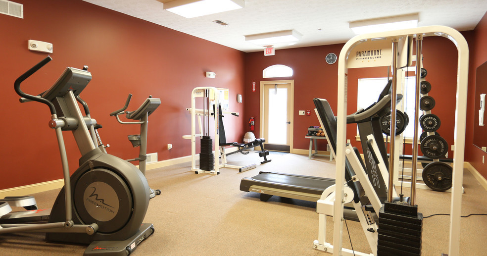 Fully-Equipped Fitness Center at Lehigh Park Apartments in Henrietta, NY