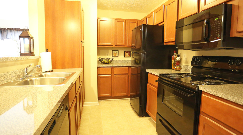Modern Kitchens at Lehigh Park Apartments in Henrietta, NY